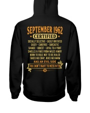 MESS WITH YEAR 62-9 Hooded Sweatshirt back