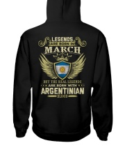 Legends - Argentinian 03 Hooded Sweatshirt thumbnail