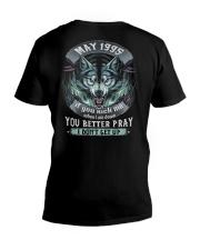 BETTER GUY 95-5 V-Neck T-Shirt thumbnail