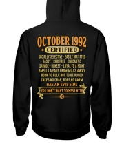 MESS WITH YEAR 92-10 Hooded Sweatshirt back