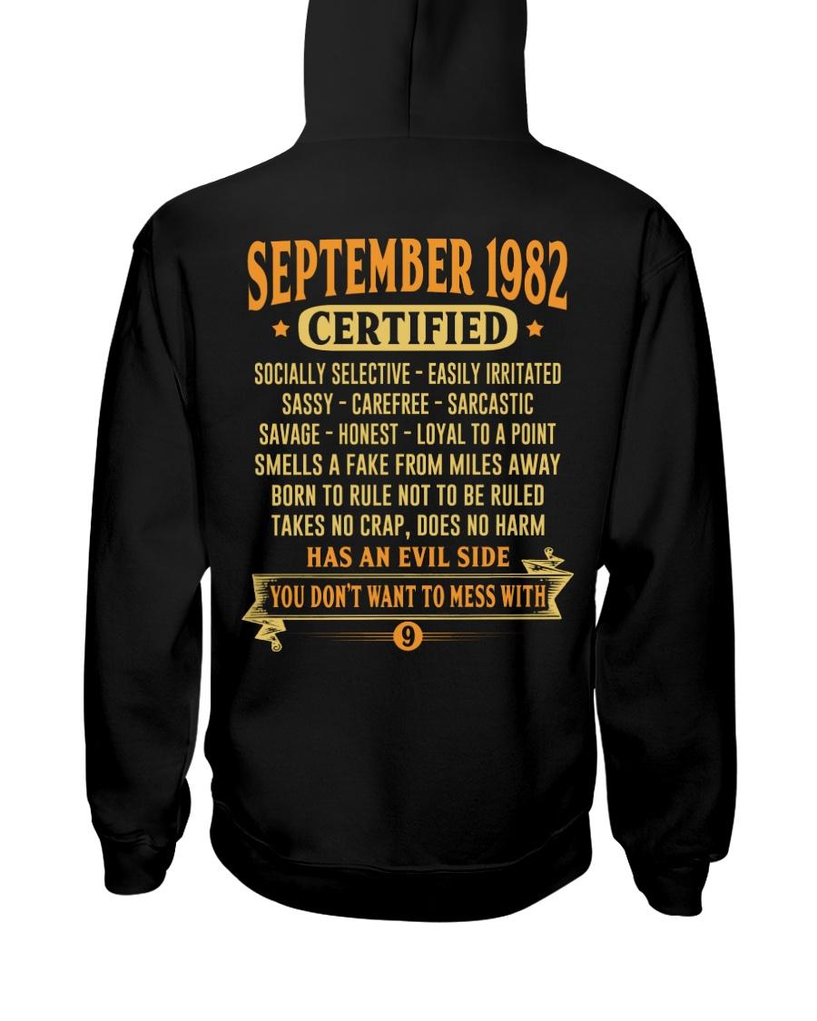 MESS WITH YEAR 82-9 Hooded Sweatshirt