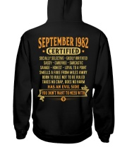 MESS WITH YEAR 82-9 Hooded Sweatshirt back