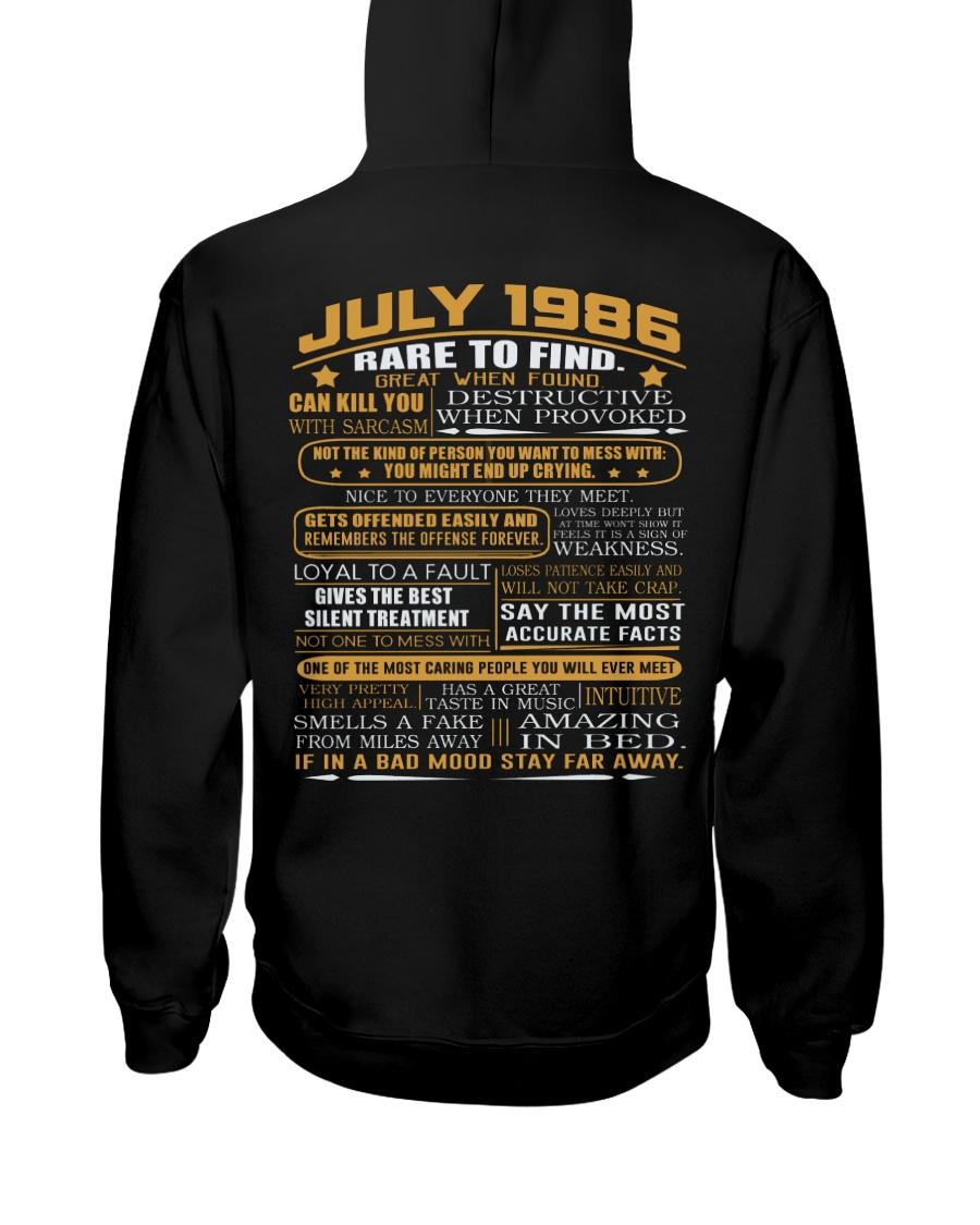 YEAR GREAT 86-7 Hooded Sweatshirt