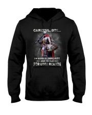 CAREFUL 01 Hooded Sweatshirt thumbnail