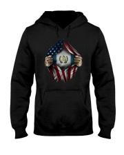 American-Guatemala Hooded Sweatshirt front