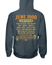 MESS WITH YEAR00-6 Hooded Sweatshirt back