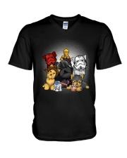yorkshire terrier V-Neck T-Shirt thumbnail
