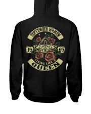 QUEEN 1969 - 09 Hooded Sweatshirt back