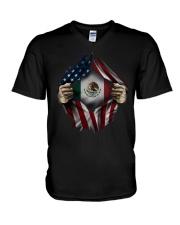 American-Mexico V-Neck T-Shirt thumbnail