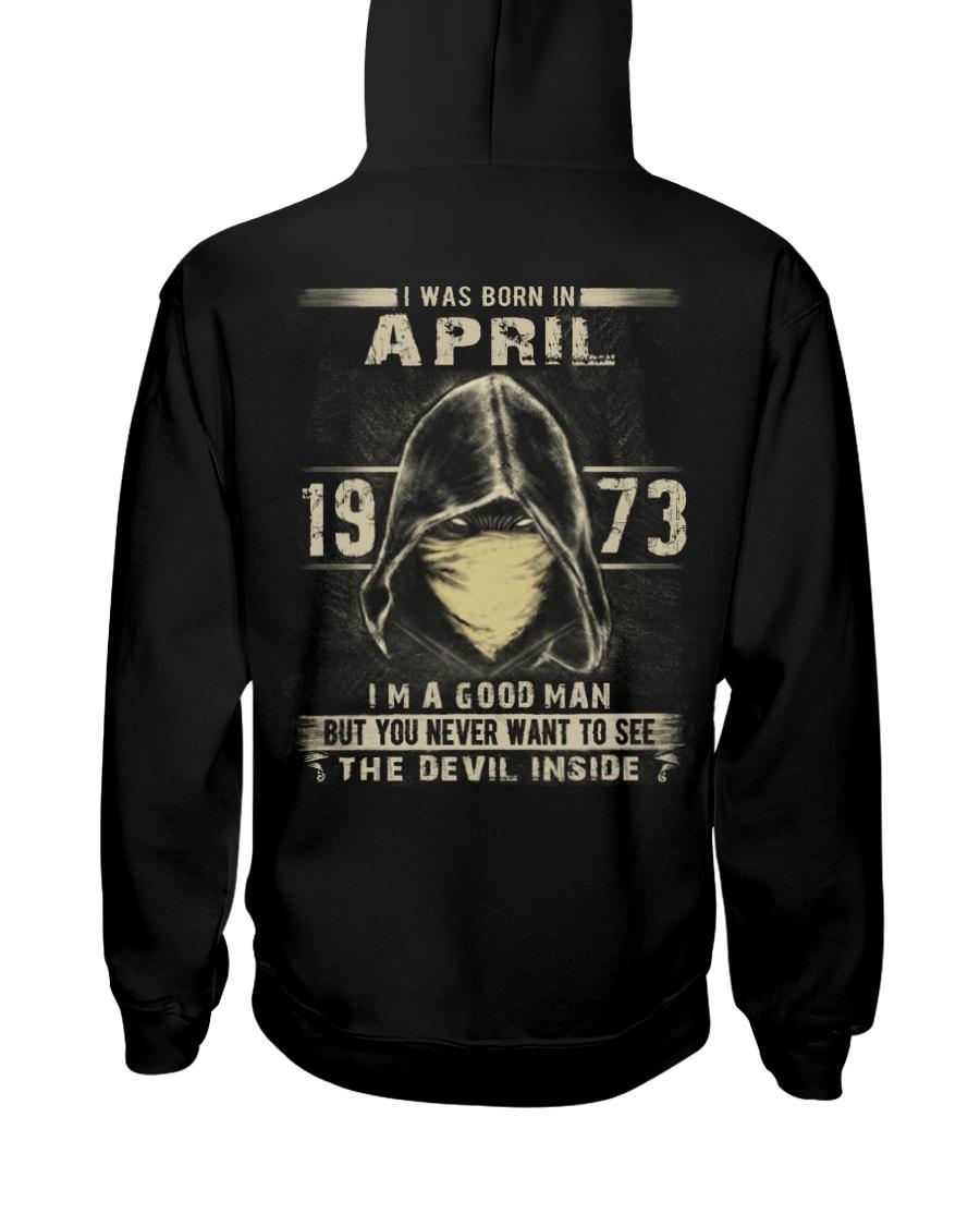 GOOD MAN 1973-4 Hooded Sweatshirt