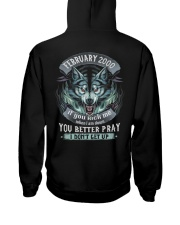 BETTER GUY 00-2 Hooded Sweatshirt back
