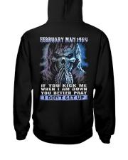 I DONT GET UP 64-2 Hooded Sweatshirt back