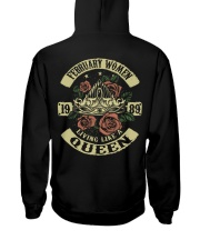 QUEEN 1989 - 02 Hooded Sweatshirt back