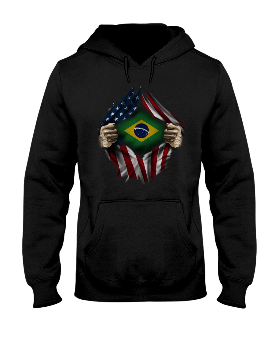 American-Brazil Hooded Sweatshirt