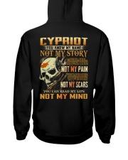 Cypriot Hooded Sweatshirt back
