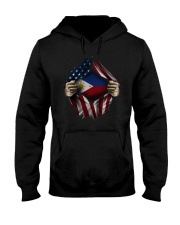 American-Philippines Hooded Sweatshirt front