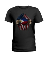 American-Philippines Ladies T-Shirt thumbnail