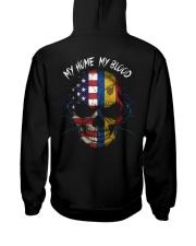MY HOME - BLOOD Moldova Hooded Sweatshirt back