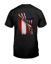 Flag-America-Austria Classic T-Shirt thumbnail