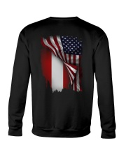 Flag-America-Austria Crewneck Sweatshirt thumbnail
