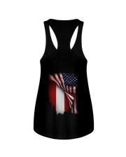 Flag-America-Austria Ladies Flowy Tank thumbnail