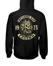 MAN 1975 09 Hooded Sweatshirt back