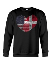 MY HEART Denmark Crewneck Sweatshirt tile