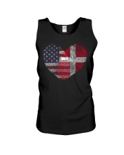 MY HEART Denmark Unisex Tank thumbnail