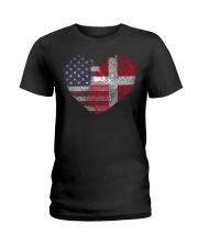 MY HEART Denmark Ladies T-Shirt thumbnail
