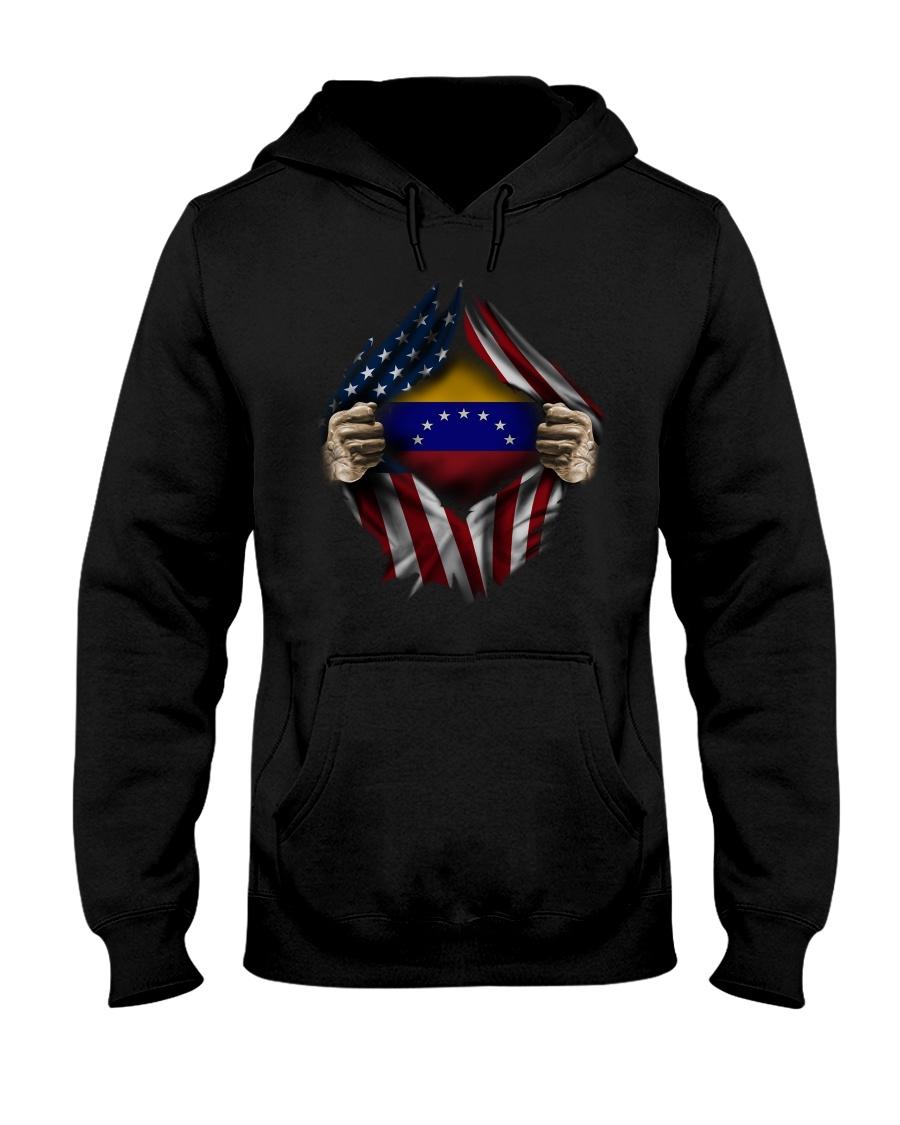 American-Venezuela Hooded Sweatshirt