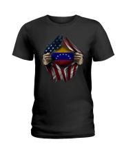 American-Venezuela Ladies T-Shirt thumbnail