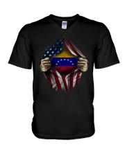 American-Venezuela V-Neck T-Shirt thumbnail