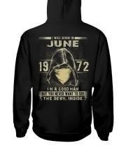 GOOD MAN 1972-6 Hooded Sweatshirt back