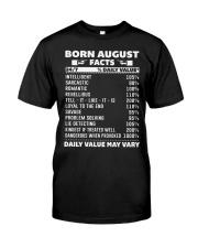VALUE FONT 8 Classic T-Shirt thumbnail