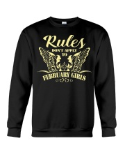 RULES - GIRL 02 Crewneck Sweatshirt thumbnail
