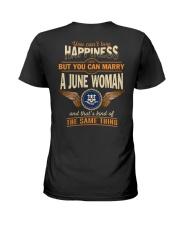 HAPPINESS CONNECTICUT6 Ladies T-Shirt thumbnail