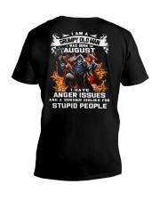 GRUMPY OLD MAN 8 V-Neck T-Shirt thumbnail