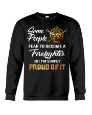 Proud - Firefighter Crewneck Sweatshirt thumbnail