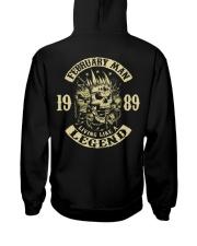 MAN 1989 02 Hooded Sweatshirt back