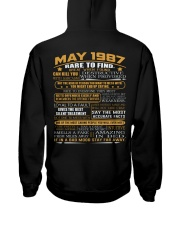YEAR GREAT 87-5 Hooded Sweatshirt back