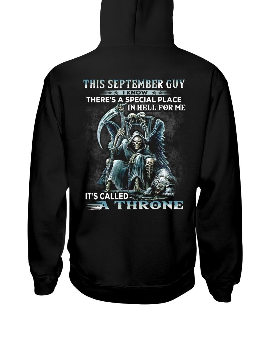 THRONE 9 Hooded Sweatshirt