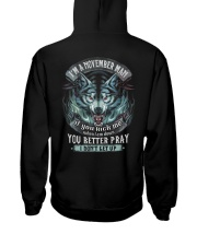 betterpray-11 Hooded Sweatshirt back