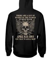I AM A GUY 68-4 Hooded Sweatshirt back