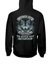 BETTER GUY 73-10 Hooded Sweatshirt back