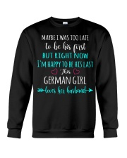 Girl - German Crewneck Sweatshirt thumbnail