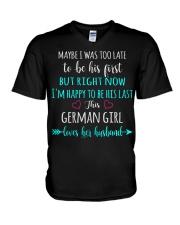 Girl - German V-Neck T-Shirt thumbnail