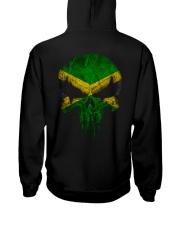 Skull Jamaica Hooded Sweatshirt back