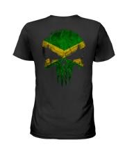 Skull Jamaica Ladies T-Shirt thumbnail