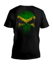 Skull Jamaica V-Neck T-Shirt thumbnail