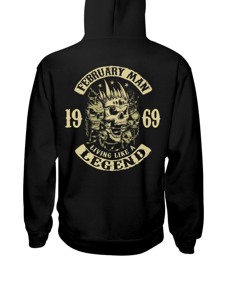 MAN 1969 02 Hooded Sweatshirt